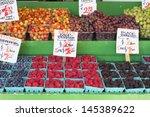 Blueberries Raspberries Grapes...