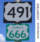 road sign  u.s. hwy 491 ...