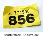 raffle ticket | Shutterstock . vector #145395202