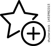 add a rating star to give... | Shutterstock .eps vector #1453982315