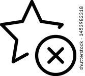 cancel delete ratings on an... | Shutterstock .eps vector #1453982318