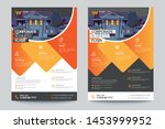 corporate business flyer poster ... | Shutterstock .eps vector #1453999952