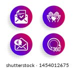 hold heart  euro money and...   Shutterstock .eps vector #1454012675
