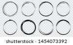 super set of circles lines... | Shutterstock .eps vector #1454073392