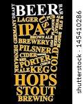 beer ad | Shutterstock . vector #145410286