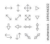 set of arrow related vector...