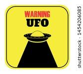 humorous danger road signs for... | Shutterstock .eps vector #1454206085
