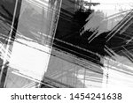 grunge black and white abstract ... | Shutterstock . vector #1454241638