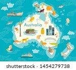 Australia Continent  World...