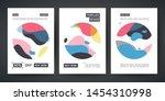 set of template design banner....   Shutterstock .eps vector #1454310998