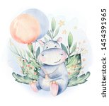 Hand Drawn Cute Isolated...