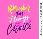 modern lettering slogan you... | Shutterstock .eps vector #1454422358
