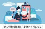 communication vector...   Shutterstock .eps vector #1454470712