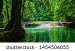 Landscape Waterfall Than Bok...