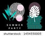 set of pastel simple universal...   Shutterstock .eps vector #1454550005