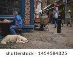 london  uk   july  2019. a... | Shutterstock . vector #1454584325