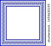 Blue And White Ceramic...