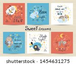 Set Of Cute Posters For Babies