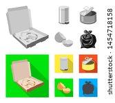 bitmap illustration of dump and ... | Shutterstock . vector #1454718158