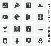 entertainment vector icons set  ...