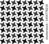 Houndstooth Modern Pattern...
