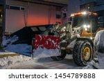 tromso  norway    december 2018 ...   Shutterstock . vector #1454789888