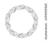 vector illustration  circle ...   Shutterstock .eps vector #1454935565