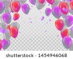 balloons  vector illustration.... | Shutterstock .eps vector #1454946068