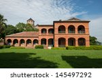 Fort Santo Domingo, Tamsui,Taipei , Taiwan. - stock photo