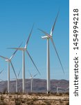 Wind Farms Generating Power In...