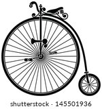 penny farthing bicycle | Shutterstock .eps vector #145501936