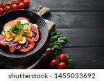 vegetable salad. tomatoes ...