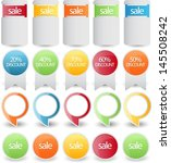web element set | Shutterstock .eps vector #145508242