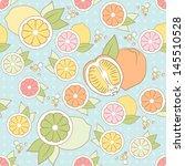 vector pastel seamless pattern...   Shutterstock .eps vector #145510528
