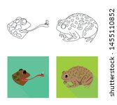 vector illustration of wildlife ... | Shutterstock .eps vector #1455110852