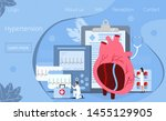 health concept of hypotension...   Shutterstock .eps vector #1455129905