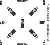 grey bottle of water icon... | Shutterstock .eps vector #1455144842