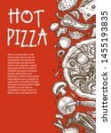 hot pizza poster pizzeria...