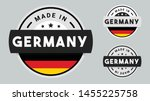 made in germany collection of... | Shutterstock .eps vector #1455225758