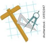 vector measuring tools   Shutterstock .eps vector #14552347