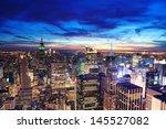 New York City Skyline Aerial...