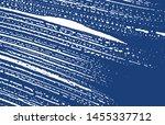 grunge texture. distress indigo ... | Shutterstock .eps vector #1455337712