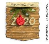 new year's or christmas banner... | Shutterstock .eps vector #1455348902