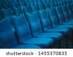 Blue Empty Seats In The...