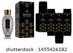packaging design  label on... | Shutterstock .eps vector #1455426182