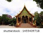 thai buddhist temple in...   Shutterstock . vector #1455439718