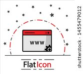 www icon online website or... | Shutterstock .eps vector #1455479012