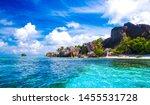 the famous beach  source d... | Shutterstock . vector #1455531728