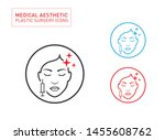 medical aesthetic and beauty...   Shutterstock .eps vector #1455608762