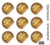 vector   promotional sale...   Shutterstock .eps vector #145561402